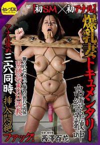 初SM×初アナル 爆乳妻ドキュメンタリー・吊縛鼻鞭呻 西澤百花