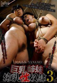 巨乳姉妹搾乳性奴隷3 河西あみ YANAMO