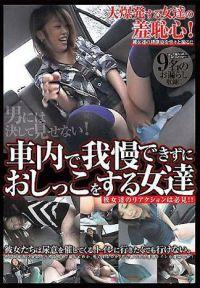 在車上無法忍耐而偷尿尿的女人們